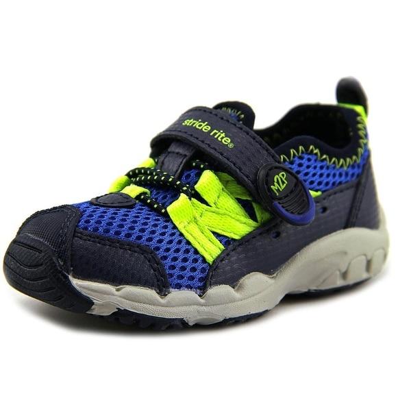 Stride Rite M2P Finn   Round Toe Leather  Sneakers