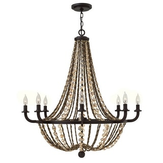 Fredrick Ramond FR42868 8 Light 1 Tier Chandelier from the Hamlet Collection