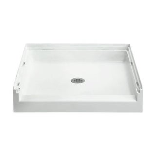 """Sterling 72241100 Accord 36"""" x 36"""" x 6-5/8"""" Vikrell Shower Pan with Drain Center"""