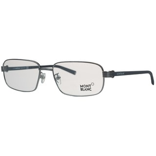 Montblanc MB0427/V 014 Silver Rectangular Opticals