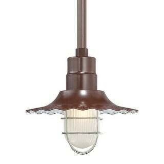 """Millennium Lighting RRWS12 R Series 1 Light 12"""" Wide Outdoor Shade"""