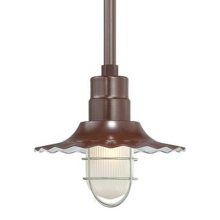 "Millennium Lighting RRWS12 R Series 1 Light 12"" Wide Outdoor Shade"
