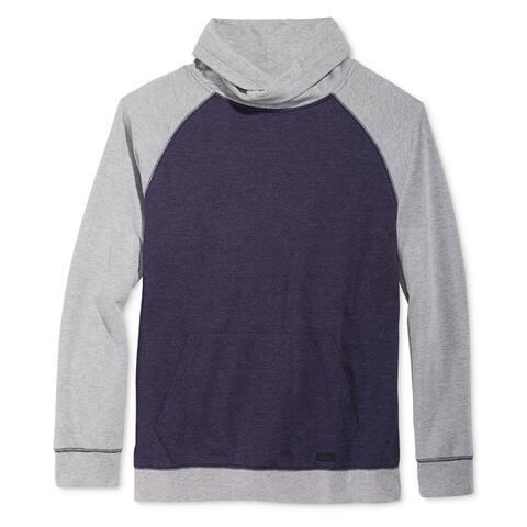 Univibe Mens Raglan Funnel Neck Sweatshirt