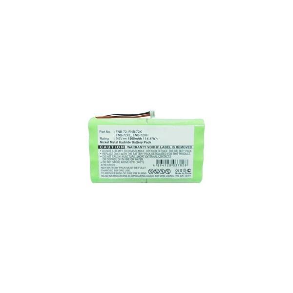 Battery for Yaesu FNB-72 (Single Pack) Two-Way Radio Battery