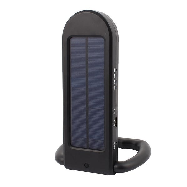 Multi-functional LED Solar Lamp 12 Bright LED Dimmable Function USB Charger