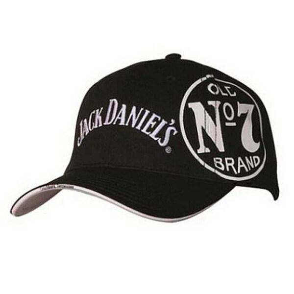 544614302 Jack Daniels Men's Tried and True Baseball Cap - Black JD77-82