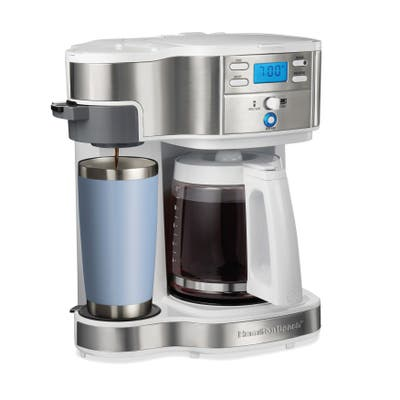 Hamilton Beach 2-Way Programmable Coffee Maker,