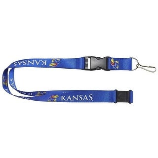 Kansas Jayhawks Lanyard Blue