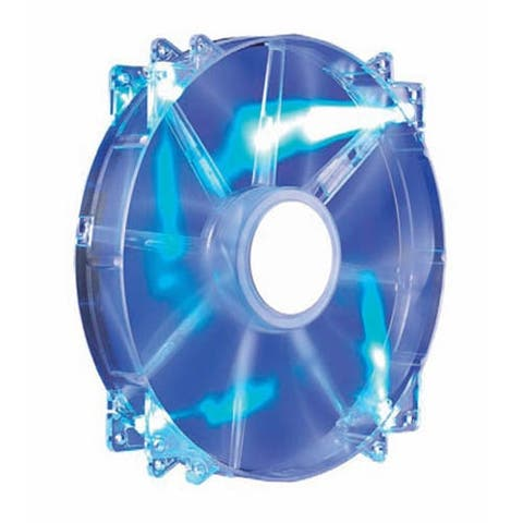 Cooler Master R4-LUS-07AB-GP MegaFlow 200 200mm Computer Case Fan (Blue LED) NEW
