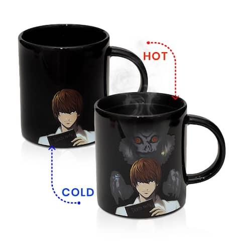 Death Note Coffee Cup Heat-Changing 16 Ounce Ceramic Anime Coffee Mug - Multi