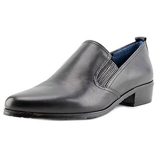 Tahari Womens Thelma Leather Pointed Toe Loafers