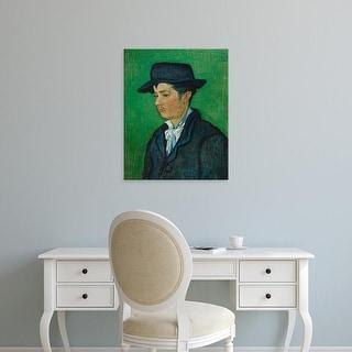 Easy Art Prints Vincent Van Gogh's 'Portrait of Armand Roulin' Premium Canvas Art