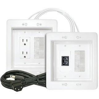 Midlite MDT22APJW7RW Midlite Power Jumper HDTV Power Relocation Kit