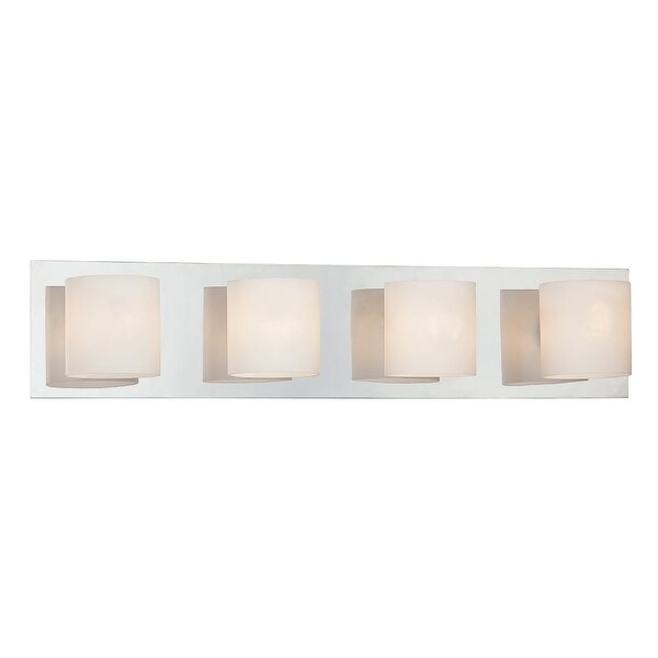 "Eurofase Lighting 20380 4 Light 5.5""H Bathroom Sconce from the Geos Collection"