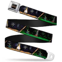 Shovel Knight Full Color Black Gold Shovel Knight 8 Bit Sleeping Poses Seatbelt Belt