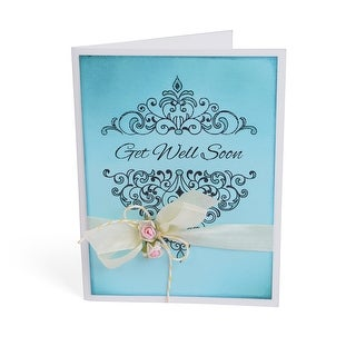 Sizzix Interchangeable Clear Stamps-Damask Greetings
