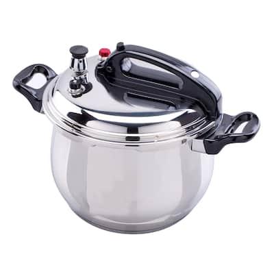 Bene Casa stainless-steel, 5.3-quart Pressure Cooker, 5-liter capacity pressure cooker