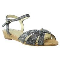 Soft Style Womens Hss1324-001 Black Slides Size 7.5