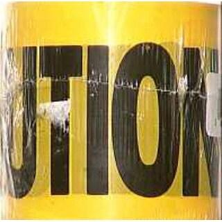 "CH Hanson 15001 Barricade Caution Tape Polyethylene, 3"" x 200'"