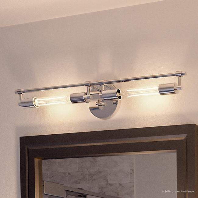 promo code 411f7 93d7e Luxury Industrial Chic Bathroom Vanity Light, 5.125