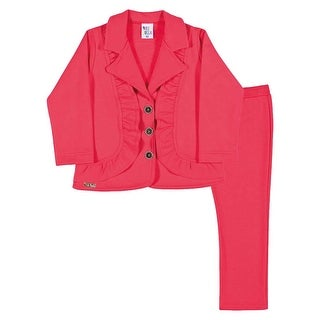 Toddler Girl Outfit Blazer Jacket and Pants Set Pulla Bulla Sizes 1-3 Years