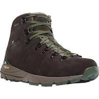 "Danner Men's Mountain 600 4.5"" Hiking Boot Brown/Green Suede"