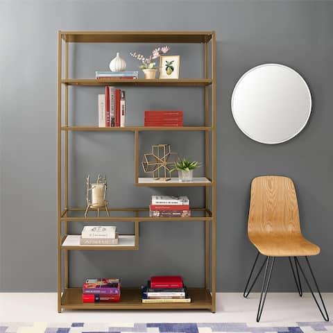 Avenue Greene Dixie Geometric Bookcase Etagere