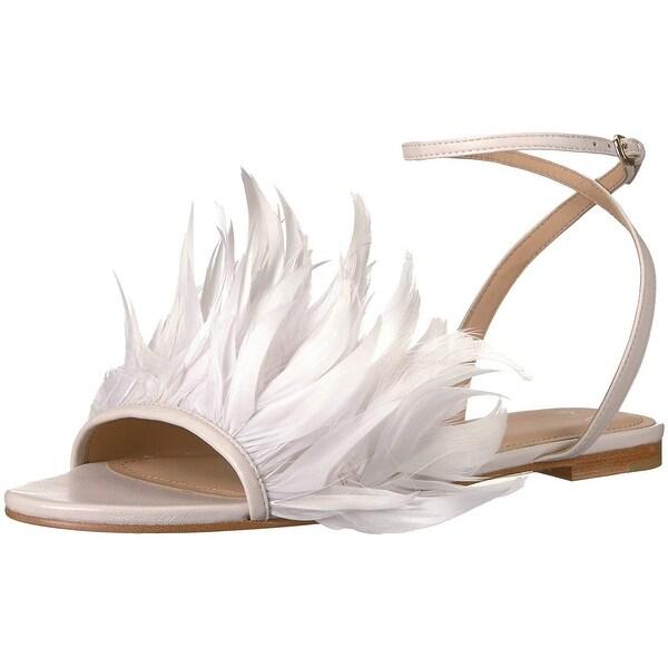 567c9072d Shop Pour La Victoire Women's Layla Flat Sandal - 8.5 - Free ...