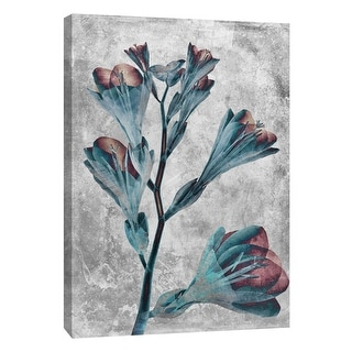 "PTM Images 9-105783  PTM Canvas Collection 10"" x 8"" - ""Flower Inversions 5"" Giclee Flowers Art Print on Canvas"