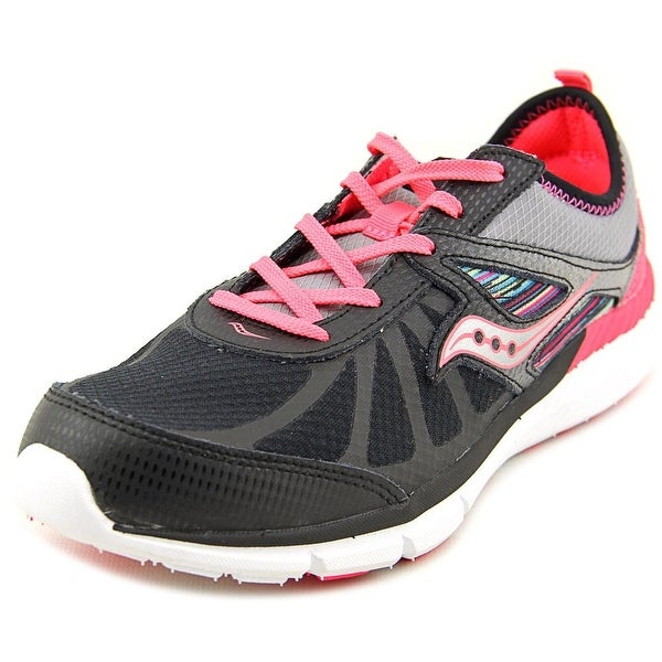 Saucony Volt Youth  Round Toe Synthetic Black Running Shoe