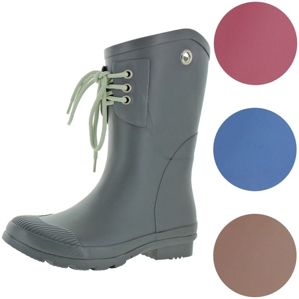 Nomad Women's Kelly B Matte Rubber Short Wellie Rain Boots. Opens flyout.
