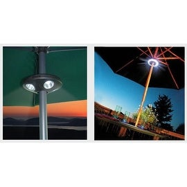 Super-Bright LED Outdoor Umbrella Pole Light with Dimmer