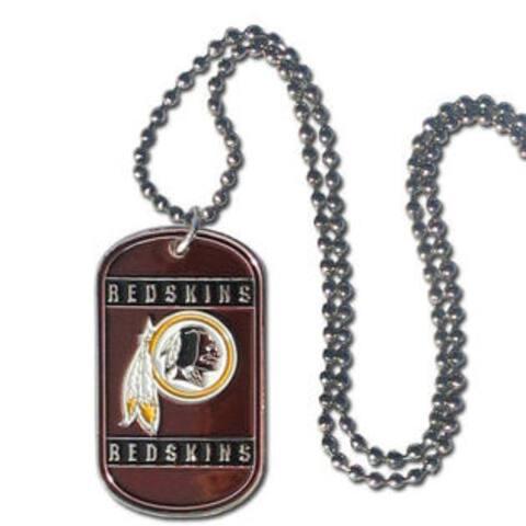 Washington Redskins Necklace Tag Style