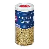 (6 Ea) Glitter 4Oz Gold