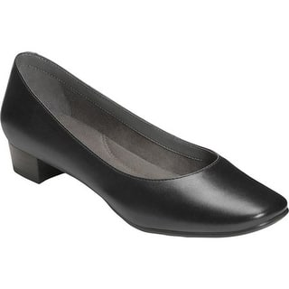 f38e3dbdc74 Aerosoles Women s Silver Star Pump Black Patent Leather · Quick View