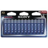 Sony S-Am3B36A Stamina(R) Plus Alkaline Batteries (Aa; 36 Pk)