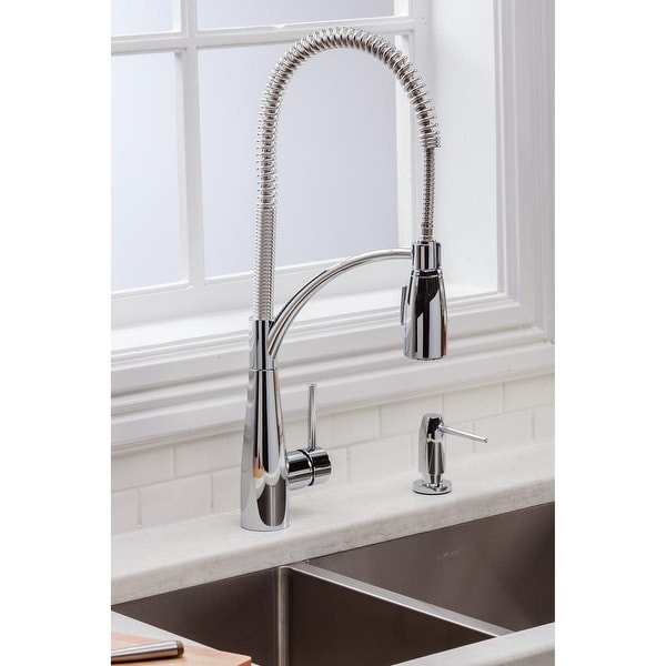 Elkay LKAV4061 Avado 1.5/2.2 GPM Deck Mounted Pull Out Kitchen Faucet with Multi-Function Spray Head