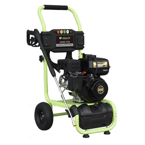 Green Power 2600 PSI Gas Dolly Style Pressure Washer, LCT Engine