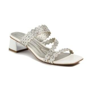 Andrew Geller Vinnie Women's Sandals White