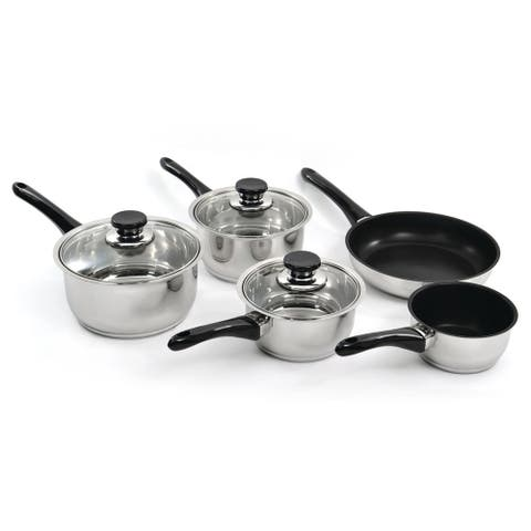 Vision 8Pc 18/10 SS Cookware Set