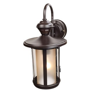 "Heath Zenith HZ-4115 Single Light 14-3/16"" High Outdoor Wall Sconce - Motion Sensor Activated"