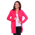 Simply Ravishing Women's Basic Long Sleeve Open Cardigan (Size: Small-5X) - Thumbnail 8