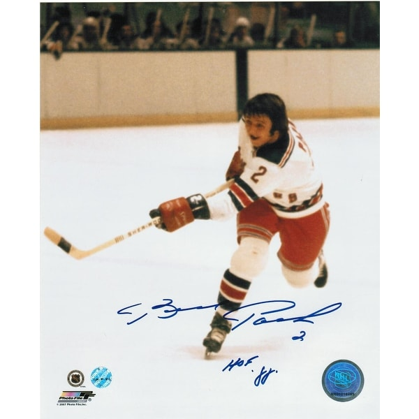 best website 3c55d 0aba6 Brad Park New York Rangers Autographed 8x10 Photo Inscribed