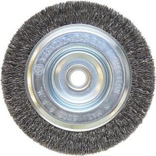 """Weiler Brush 5"""" Wire Wheel 36063 Unit: EACH"""