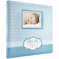 "Mbi Expressions Post Bound Album W/Window 12""X12""-Moon & Back"