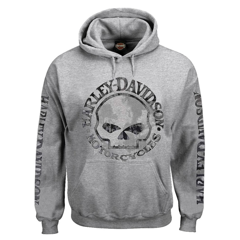 Harley-Davidson Off White Hoodie sweatshirt Pullover XL New