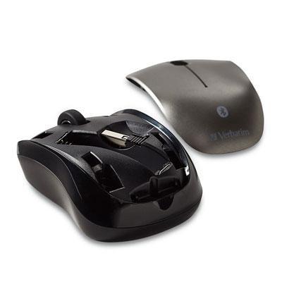 Verbatim Bluetooth Wireless Tablet Multi-Trac Blue Led Mouse (98590)