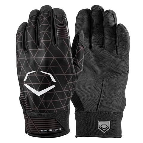 EvoShield Evocharge Protective Batting Gloves (Youth Small - Black)