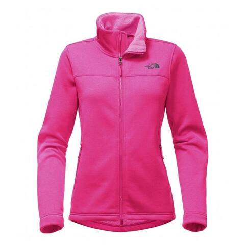 The North Face Timber Full Zip Jacket PETTICOAT PINK HEATHER Women