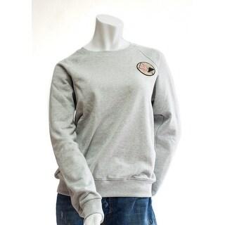 Saint Laurent Men's Gray Never Say Never Pullover - L